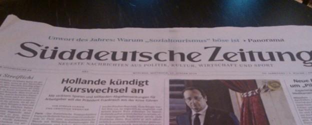 SZ_Hollande-Kurswechsel